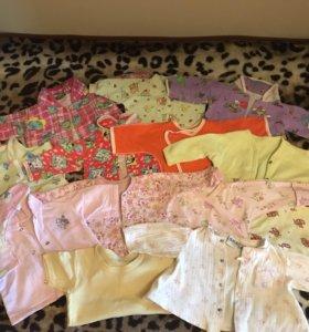 Рубашечки для малышки