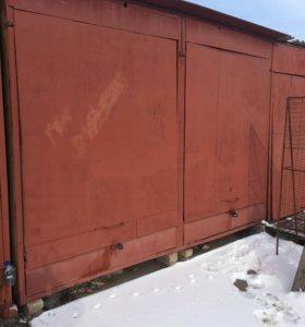 Железный контейнер 3*4