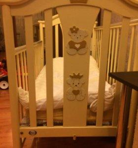 Детская итальянская кроватка Pali Срочно!!!