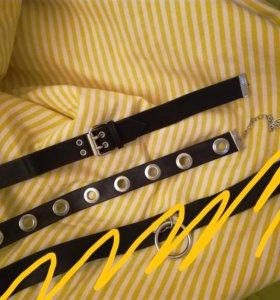 Чокеры на шею из H&M и Stradivarius