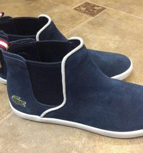 Ботинки Lacoste женские новые 37 замша