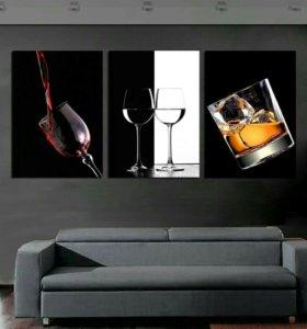 Картины в гостиную или столовую