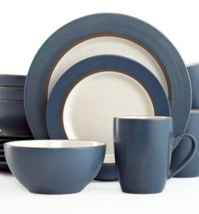 Новый сервиз посуда тарелки миски чашки