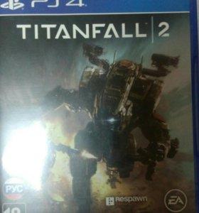 Диск Titanfall 2 для PS4
