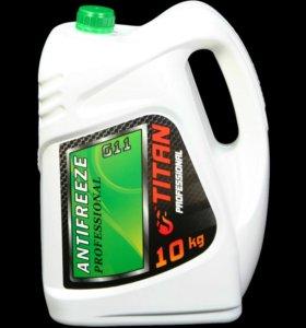 Антифриз G 11 зеленый 10 кг