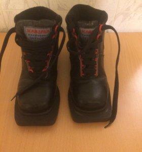 Ботинки лыжные 34 р