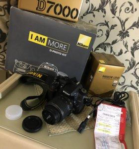 Nikon D7000+ nikkor vr 18-55мм