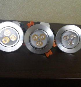 Светильник светодиодный Spotlight 3 шт