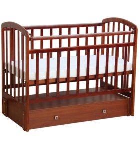 Детская кроватка Фея 313+матрас Седьмое небо