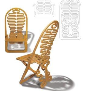 Купить деревянный дизайнерский стул