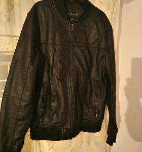 Мужская кожаная куртка. Фирма Zara