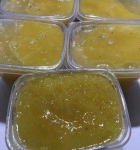 Мёд краснодарский,цветочный.0.7 кг