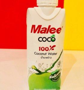 🥥🍍Кокосовая вода 330мл Malee Coco