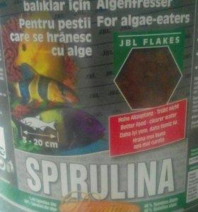 Корм в виде хлопьев JBL Spirulina Premium