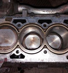 Блок цилиндров двигателя opel z22yh