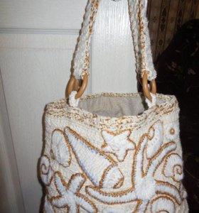 сумка с морскими мотивами