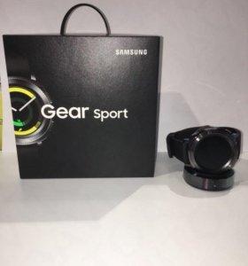 Часы Samsung Gear Sport SM-R600NZKASER Black