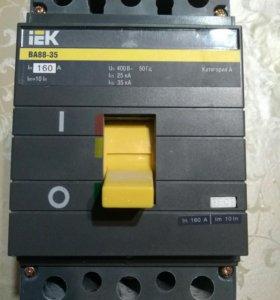 Автоматический выключатель IEK ВА88-35 160А.35кА