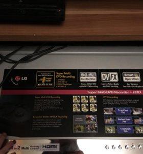 LG. HDD/DVD-рекордер