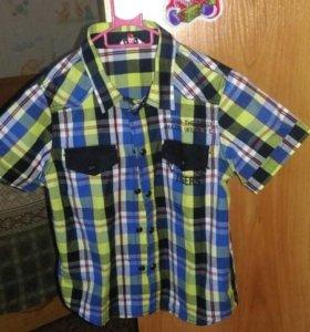 Новая рубашка на мальчика 3х лет