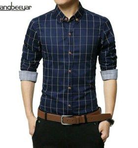 Новая мужская рубашка размер S рост 165-170