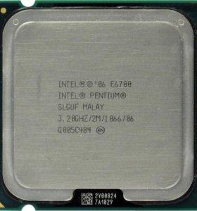 Dual Core E6700, 3.2GHz, LGA 775, FSB 1066MHz