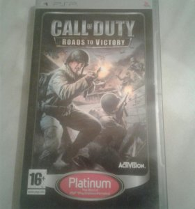 Игра CALL of DUTY Roads to Victory (PSP)