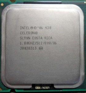 Intel Celeron 430 LGA 775, 1.8GHz, FSB 800MHz