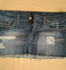 Юбка джинсовая р. 42-44