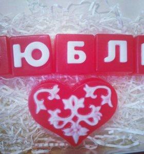 Мыло-Валентинка