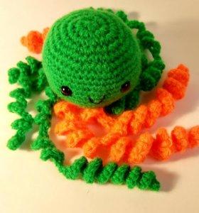 Медуза зеленая 0327