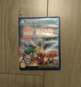 Игра на PS4 LEGO Marvel Super Heroes