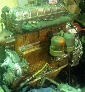 Двигатель амз 41 трактора ДТ 75