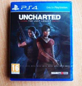 Uncharted: Утраченное Наследие.(Новый) PS4
