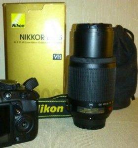 Объектив Nikon Zoom 55 - 200 мм