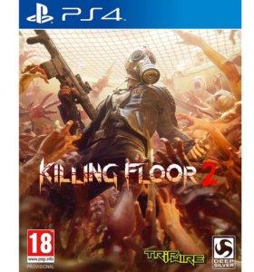 Killing floor 2 для PS4 Новый в заводской пленке