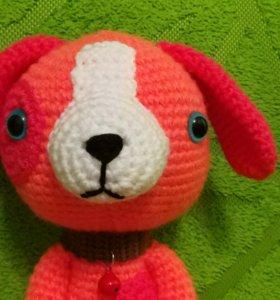 Собака оранжевая 0316