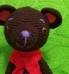 Медведь темно коричневый 0317