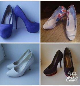 Много обуви (возможен торг/обмен)