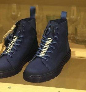 Off White x Dr. Martens Talib Nubuck Boots