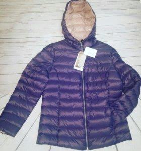 Куртка-пуховик рр 48 новая