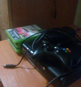Xbox 360 , 500гб+6игр