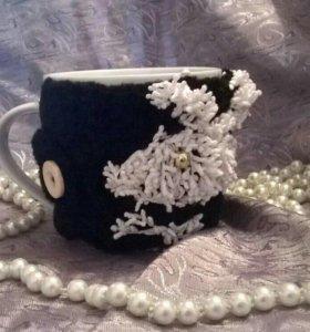 Чашка в чехле плейбой