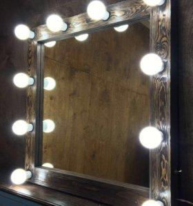 Гримерные Зеркала (с брашированием)