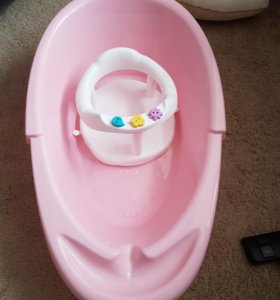 Ванночка и стульчик для купания