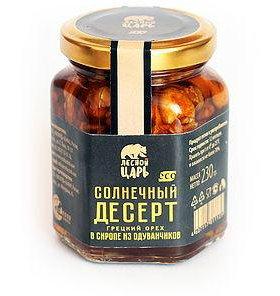 Грецкий орех в сиропе из одуванчиков
