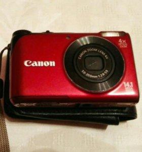 Цифровой фотоаппарат canon powershot a2200 HD