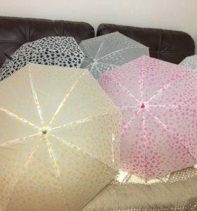 Зонты для фотосессии / фотостудии 5 шт.