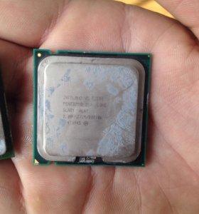 Продам : процессор Intel core pentium R4
