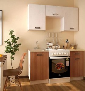 Кухня Катя 2 на 1.6 м новая